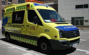 Cinco heridos tras salirse un vehículo de la carretera en Santiuste de Pedraza