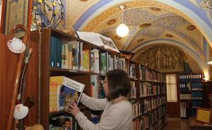 Puertas abiertas en la Biblioteca Jacobea de Carrión