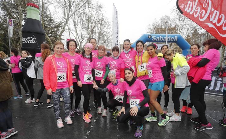 Participantes en la II Carrera y Marcha de la Mujer de Valladolid (1/5)