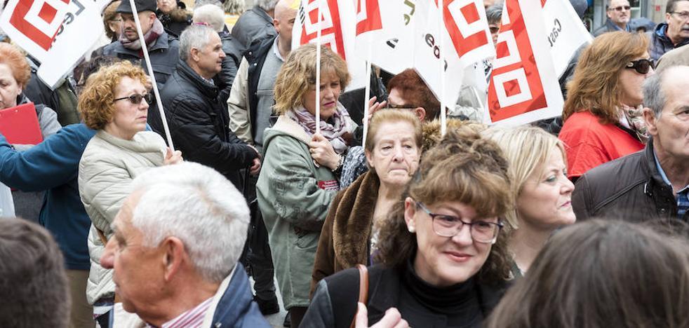 Los jubilados vuelven a pedir pensiones «dignas» en San Martín