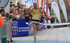 Sergio Sánchez gana la Media Maratón Ciudad de Segovia