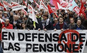 Los pensionistas de Palencia salen a la calle para reclamar dignidad