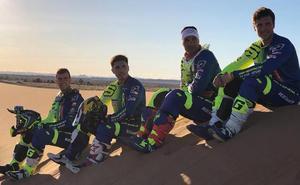 Santolino se mide a los grandes de los rallyes en su primera prueba del camino hacia Dakar