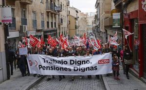 Las últimas medidas de las pensiones vuelven a sacar a la calle a los sindicatos