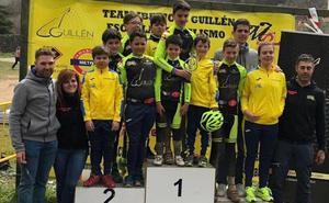 El Ibéricos Guillén Escuela de Ciclismo Bejarana disfruta en su prueba