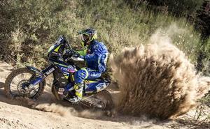 Noveno puesto de Lorenzo Santolino en la primera etapa del Rally Merzouga