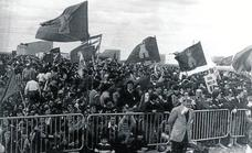 La fiesta más multitudinaria en la campa de Villalar