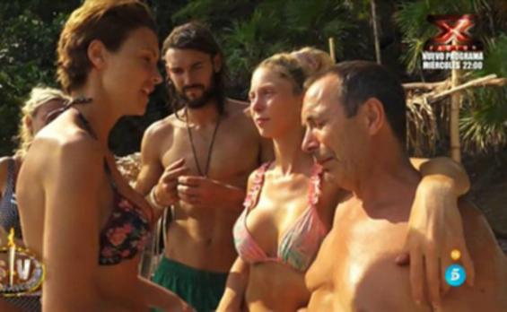 María Jesús Ruiz abandona la isla... por unos días