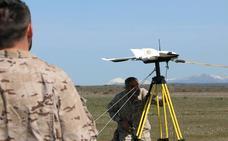 La OTAN testa en la base aérea de León el primer 'geodron', un arma tecnológica puntera