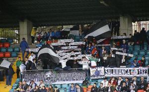 Las peñas del CF Salmantino UDS harán una quedada con o sin entradas