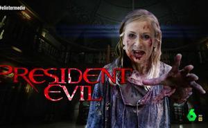 El Gran Wyoming convierte en un zombie a Cristina Cifuentes