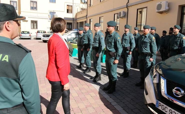 Segovia cuenta con una nueva unidad de la Guardia Civil