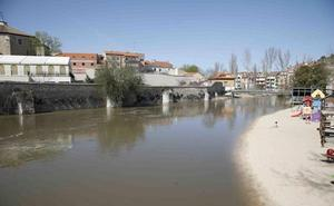 El Duero y Duratón experimentan el mayor caudal de las últimas crecidas