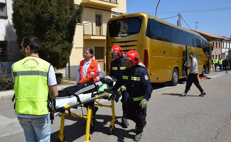 I Jornada de seguridad vial en el transporte escolar en Guardo