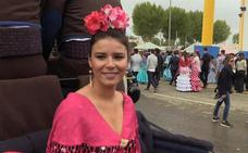 Tana Rivera no falta a la cita con la Feria de Abril de Sevilla