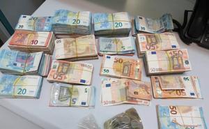 Detenido en Valladolid con cerca de 200.000 euros por un presunto delito de blanqueo de capitales