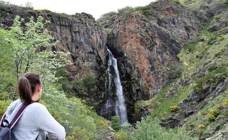 Las imágenes que deja el deshielo en la Montaña Palentina