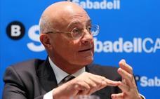 Oliu, presidente del Sabadell: «La situación en Cataluña está empantanada»