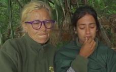 Mayte Zaldívar y Melissa Vargas, al borde del llanto