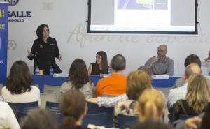 Conferencia sobre redes sociales en el colegio La Salle