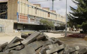 135.000 euros de multa por el retraso en las obras del Pabellón de Palencia
