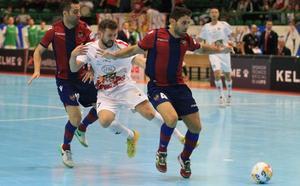 Diego Gacimartín y Buitre responden al técnico del Santiago Futsal