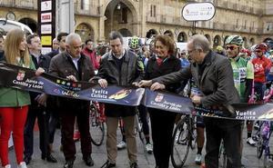 La XXXIII Vuelta Ciclista a Castilla y León parte este viernes de Alba de Tormes