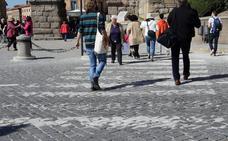 Cada ocho días se produce en Segovia un atropello, la mayoría en pasos de cebra
