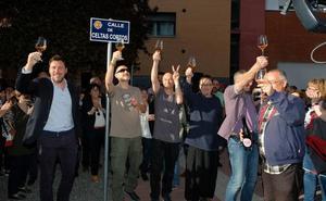 Celtas Cortos pone banda sonora a su nueva calle en Valladolid