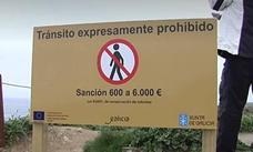 La Xunta prohíbe transitar por los acantilados de Las Catedrales tras el fallecimiento de la joven vallisoletana