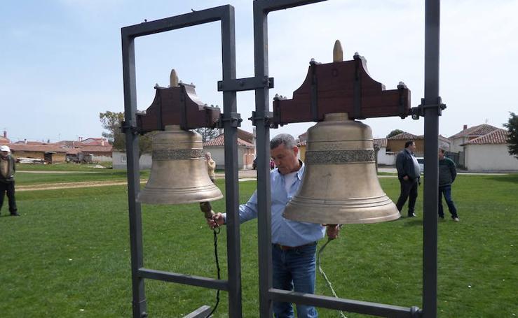 Suenan las campanas en Villota del Páramo