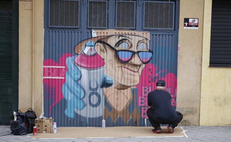 VII Galería Urbana en el barrio del Oeste