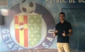 El salmantino Diego Hernández Barriuso 'Barri' debuta en Primera con el Getafe