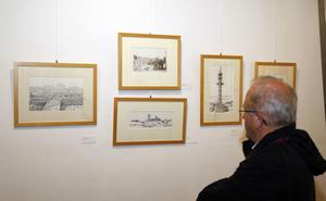 Julio del Val expone enelMuseo de Palencia sus dibujos y pinturas