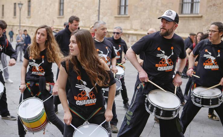Batucada en Salamanca