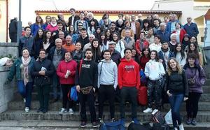 Vecinos, profesores y alumnos elogían y disfrutan de la convivencia estudiantil