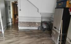 La tormenta del domingo anega viviendas y garajes en Ciguñuela
