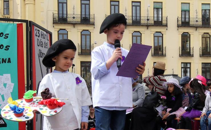 Celebración del Día del Libro en Segovia