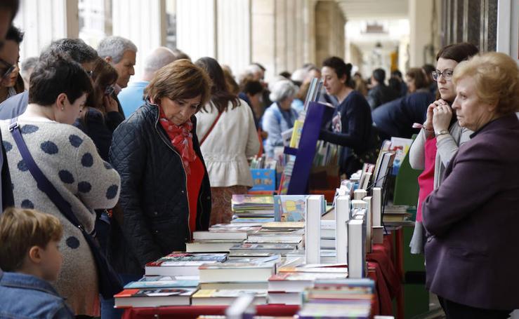 Día del Libro en la Calle Mayor de Palencia
