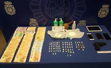 La Policía Nacional detiene a dos personas y desmantela un punto de venta de cocaína en Tudela