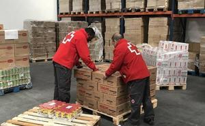 Cruz Roja finaliza la distribución de 188.797 kilos de alimentos en Valladolid