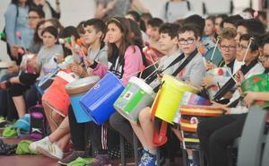 Mil alumnos participan en actividades musicales en la Cúpula del Milenio
