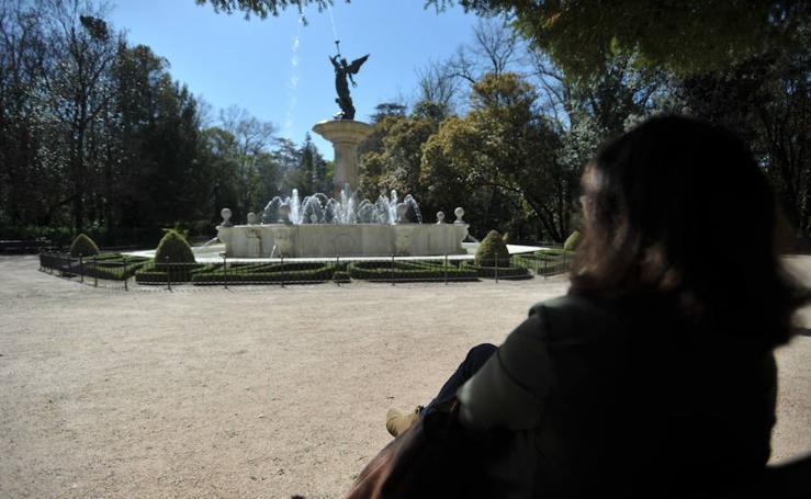 Bancos con vistas en Valladolid