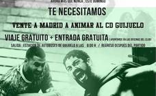 El Guijuelo ofrece viaje y entrada gratis a sus seguidores para la 'final' ante el Unión Adarve