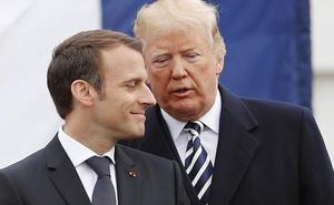 Macron conquista a Trump sin sacar nada palpable