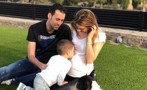 Galera, pareja de Sergio Busquets, embarazada