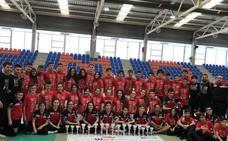 Espectacular regional infantil y cadete para los representantes salmantinos