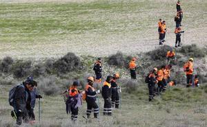 Voluntarios de Protección Civil de la provincia de Valladolid se forman en la búsqueda de personas desaparecidas