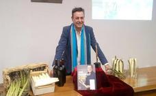 José Ribagorda destaca el sabor sutil e intenso del espárrago de Tudela