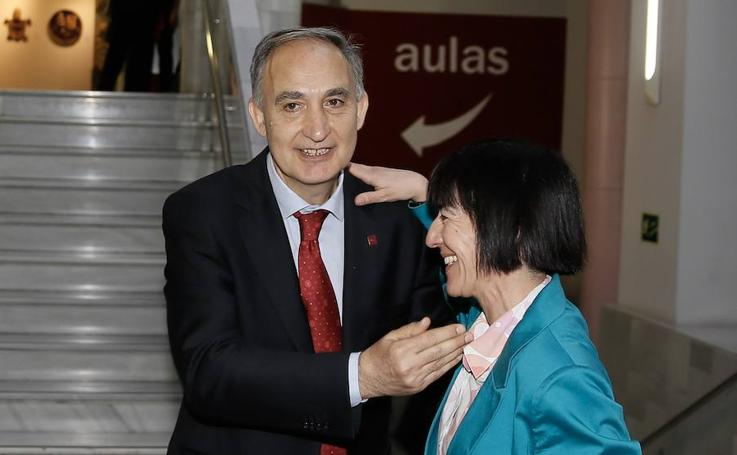 Antonio Largo, nuevo rector de la Universidad de Valladolid